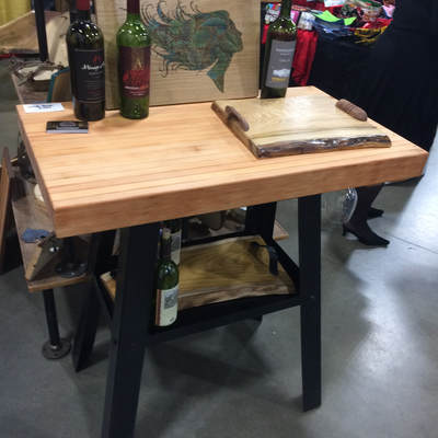 Wine Bar High Top Table